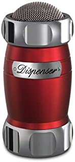 """Marcato 8344RD Atlas Flour Duster Dispenser Shaker, Made in Italy, 5 x 2.5"""", Red"""