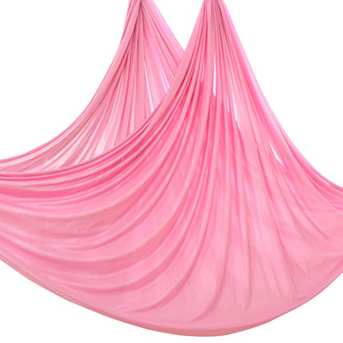 Learn More About High Elastic Large Size Silk Fabric Aerial Flying Yoga Swing/Hammock/Trapeze for Ai...