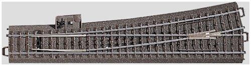 Märklin 24711 - Weiche links r1114,6 mm, Inhalt 1 Stück