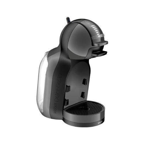 Krups Mini Me-Cafetera (Independiente, Negro, Cápsulas, Caffe Lungo, Capuchino, Café expreso, Latte Macchiato, 0,8L, 1500W), 1500 W, 0.8 litros, Plástico