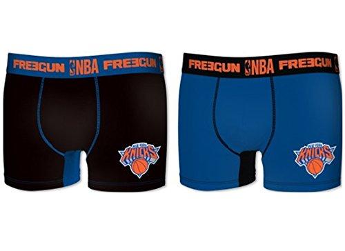 FREEGUN NBA Herren Boxershort (New York Knicks, L/6/50)