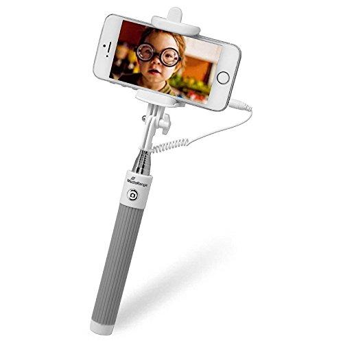 MediaRange mrma204Perche Selfie Universal Gris/Color Blanco