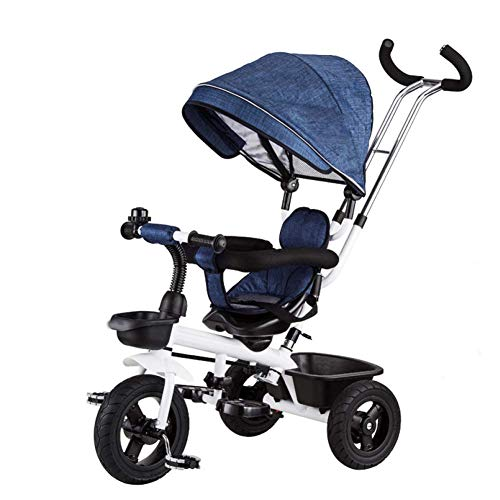 Amazing Deal Zjnhl Children's Fun / 4 In1 Children Kids Baby Carriage Stroller Tricycle, WiRemovable...