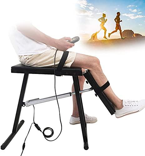 XJYDS SOLICITUD DE REHABILITACIÓN DE APOYO DE BERSE Y RODILLA ELÉCTRICA, Soportes de la rodilla con control remoto para la artritis Alivio del dolor Soporte de rodilla ajustable Taburete de apoyo para