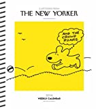 Cartoons from The New Yorker 2014 Weekly Planner Calendar