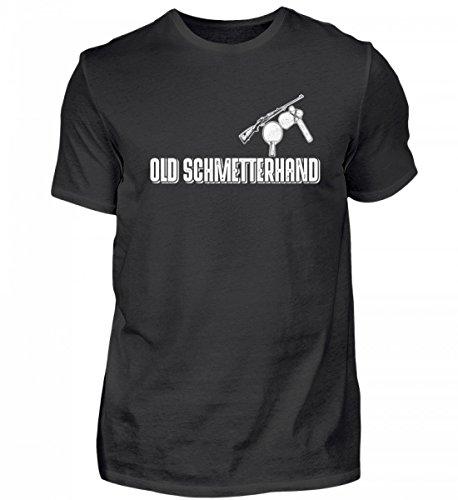 Hochwertiges Herren Shirt - Old Schmetterhand Tischtennis/Tischtennisspieler/Geschenk