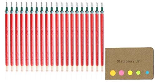 ゲルインクボールペン替芯 UMR-10 [赤]