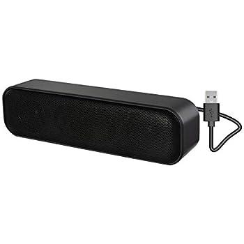 Computer Speaker,USB Powered USB Speaker for Desktop,Windows PCs,Laptop Portable USB Desktop Speaker Plug and Play