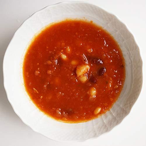 3種豆と野菜のトマトスープ 200g1人前 (冷凍)