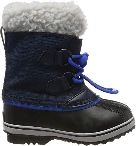 Sorel Unisex-Kinder Childrens Yoot Pac Nylon Schneestiefel, Blau (Collegiate Navy/Super Blue), 25 EU