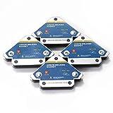 Weytoll Escuadra Magnética para Soldar , 4 Piezas, 45°, 90°, 135°, Multiángulo, Localización Auxiliar de Ferrita