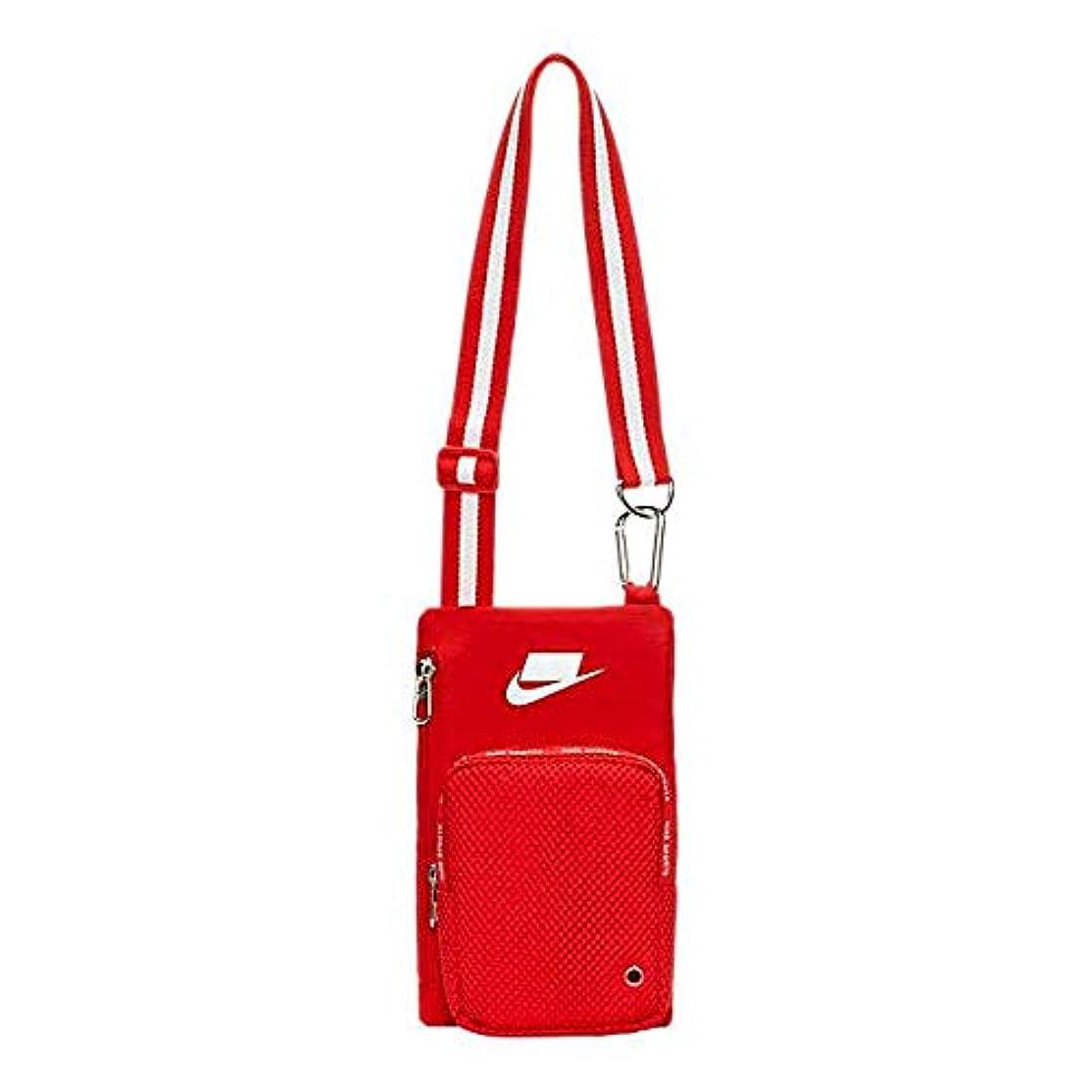 フォーマル抗生物質表現ナイキ クロスボディ バッグ Nike Sport Crossbody ショルダーバッグ University Red/Summit White_OneSize [並行輸入品]