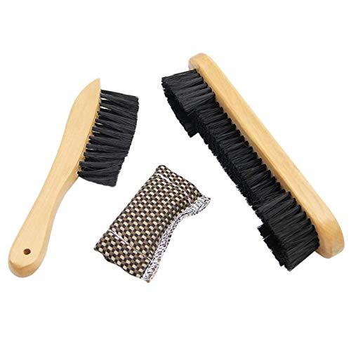 GeKLok - Kit de limpieza para mesa de billar de billar de madera para billar, cepillo para billar, accesorios para mesa de billar, herramienta de limpieza