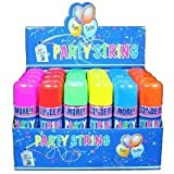 Blue Box Party String - not Silly String - 48 Cans