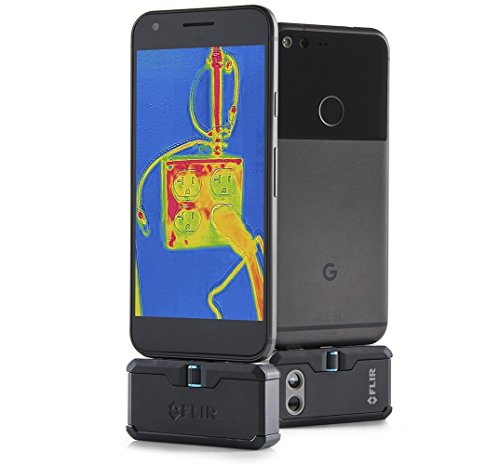 FLIR ONE Pro - Android (USB-C) - Professional Grade Thermal Camera for Smartphones - with VividIR and MSX Image Enhancement Technology