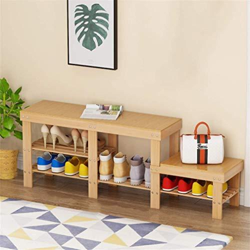 GENFALIN Artículos for el hogar del Zapato Gabinete Simple Inicio Zapato Banco Económico Puerta Pequeña Estilo Más de Soporte de Carga
