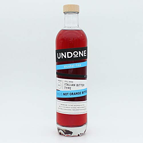 Undone No. 7 Italian Bitter Type - Alkoholfreie Alternative zu Orange Bitter (1 x 700 ml)