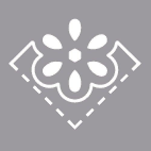 Motivo a Fiore 3,81 cm Rayher punzonatrice per Angoli 2,54/cm Ideale per Carta//cartoncino Fino a 220/g//m/²