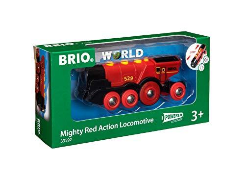 BRIO World 33592 Rote Lola elektrische Lok –...