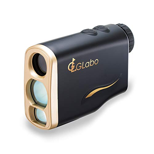 G-LABO(ジーラボ) ゴルフ レーザー距離計 1000m測定仕様 ハイレベル 距離測定器 距離計測 ゴルフスコープ 国内メーカー 雨天対応 IPX5 軽量 147g 光学6倍望遠 レンジファインダー