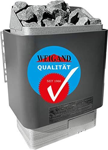 Weigand SAUNAOFEN HELO CUP 6,0 kW / 400 V inkl. finnischer Saunasteine I 6 kW