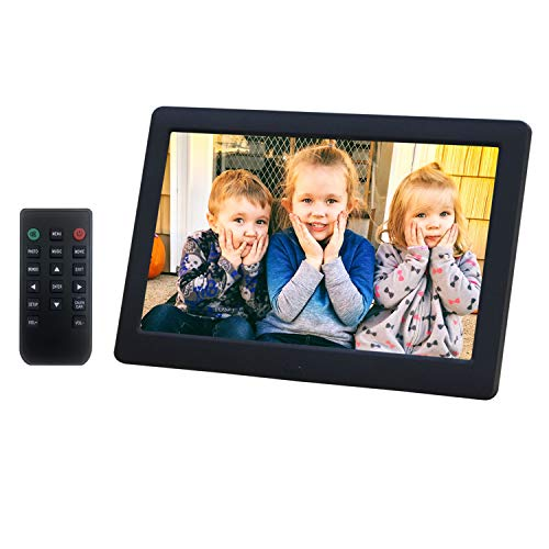 Digital Picture Frame 8 Inch Electronic Photo Frame & 1280 x 720 High Resolution IPS...