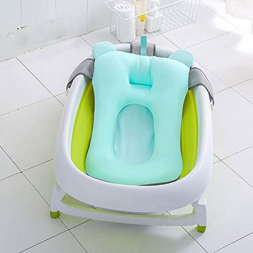 CPDZ Babybad Kissen Neugeborenen Sitz 0-12 Monat Anti-Rutsch-Kissen Sitz Verstellbare Dicken Bade-Wiege Ringe Schwimmende Weiche Kissen Liege