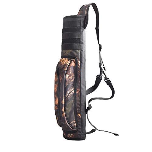 Yundxi Imperméable Sac pour carquois Tir à l'arc réglable Ultra-léger Arrow Sac à bandoulière avec Porte-carquois (Camo)