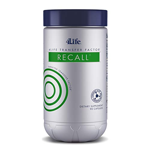 4Life - Transfer Factor ReCall - Brain Support - 90 Capsules