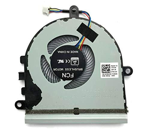 HuiHan Ersatz für Dell Inspiron 15 5570 5575 I5575 P75F Vostro 15 3583 3584 CPU-Lüfter.