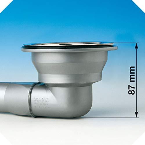 Bonde /évier diam/ètre 90 mm Gain de Place Lira