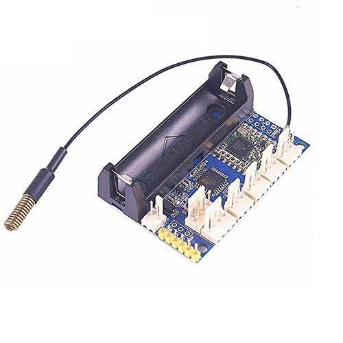 Guiping Módulo inteligente de 868 MHz LoRa Radio Nodo V1.0 inalámbrico IOT Lora Módulo RFM95 SX1276 ATmega328P 3.7-12V uFL antena Internet de las cosas FZ3338