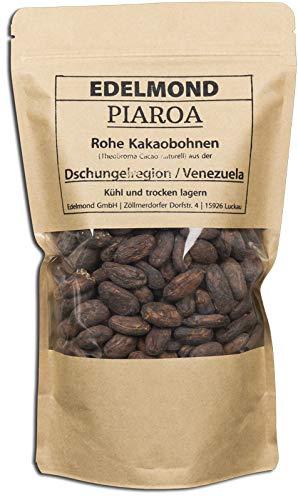 Piaroa Crand Cru Cacao. Ganze rohe Kakaobohnen. Nicht geschält. Kakao Cocoa Bohnen Rohkost