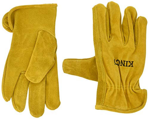 Kinco Gloves Unlined Split Cowhide Leather Driver 50S