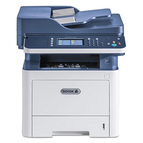 Xerox WorkCentre 3335/DNI All-in-One Monochrome Laser Printer (3335/DNI) Office Bundle