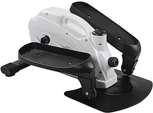 XWZ Mini Elíptica/Paso A Paso, Ejercitador De Pedales, Mini Bicicleta Estática, Máquina Elíptica Sentada Debajo del Escritorio para Entrenamiento En Casa Compacto