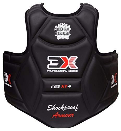 3X Professional Choice Boxen Kinder Körperschutz Kampfsport Körperschutzweste Kampfweste Taekwondo MMA Krav MAGA trainieren Körperpanzer Bauchschutz Jungs Mädchen (CE-Zertifiziert)