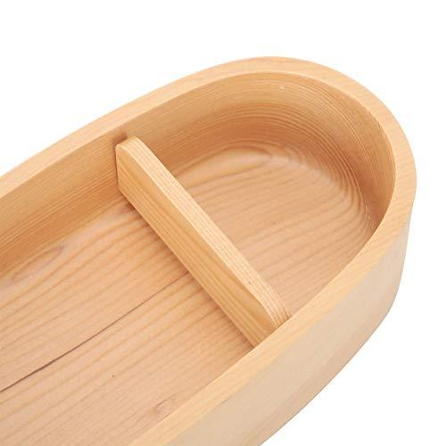 Presente DiferenteBento Container, Requintado Durable Natural Wood Easy To Clean Bento Box Madeira para adulto para escritório
