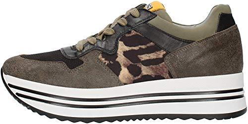 Nero Giardini Damen Sneaker A909041D-510 grün 774747