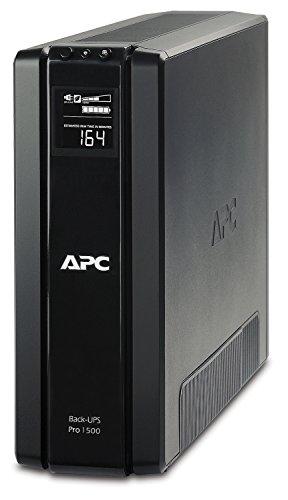 APC Power-Saving Back-UPS PRO - BR1500G-GR - Gruppo di Continuità (UPS) 1500VA (AVR, 6 Uscite Schuko, USB, Shutdown Software, Risparmio Energetico)