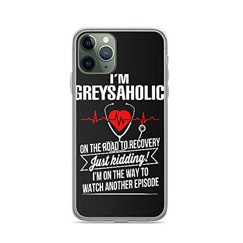 TEEDUYEN Compatible with iPhone 11 Pro Max Case Grey's Anatomy A Great Day to Save Lives Medical Drama Series Pure Clear Phone Cases Cover