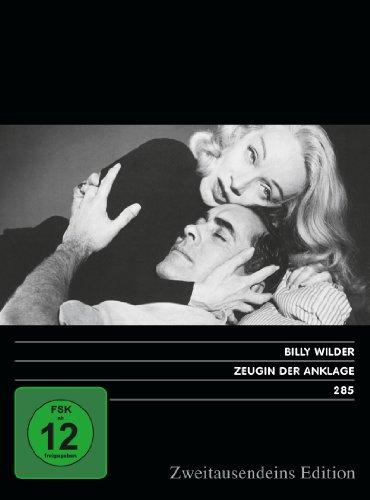 Zeugin der Anklage. Zweitausendeins Edition Film 285.