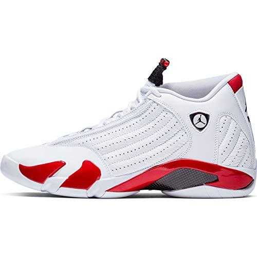 Nike Air Jordan XIV 14 Retro Candy Cane RIP Hamilton 487471-100 US Size 7.5 White