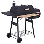 Trolley Charcoal Barbecue Outdoor Heating