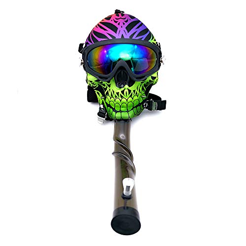 5 Style Skull Shape Gas Mask Hokah for Party Fun Costume Mask