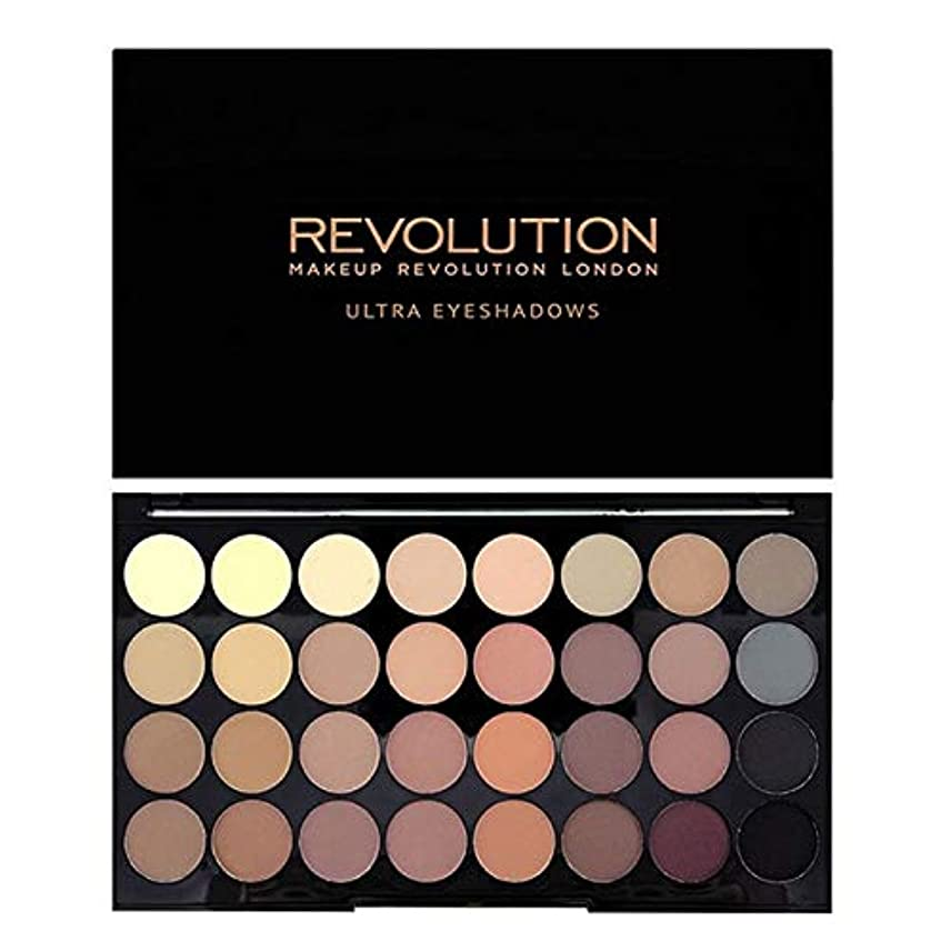 シルク項目マート[Revolution ] 回転超32完璧マットアイシャドウパレット - Revolution Ultra 32 Flawless Matte Eye Shadow Palette [並行輸入品]