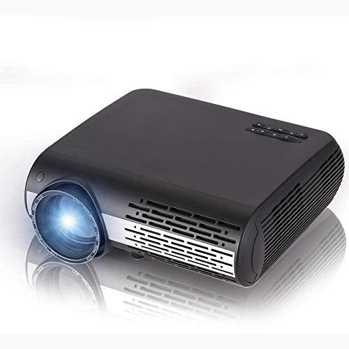 HRRF PROYECTOR DE PROYECTOR DE PROYECTOR LED LED 4500 LUMENS 1980X1080 Resolución 1000: 1 Relación de Contraste Inicio y proyector al Aire Libre
