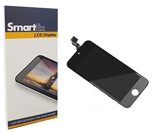 Smartex New Pantalla Negro Compatible con iPhone 5C / Display LCD Retina y Vidrio Tactil