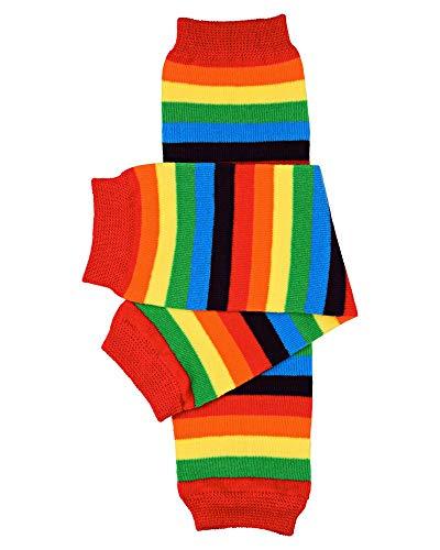 rainbow baby leg warmers