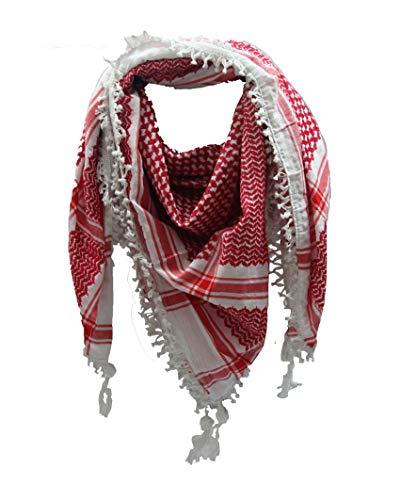 100% Cotton Fashion Dessert Arab Keffiyeh Tactical Military Shemagh Scarf